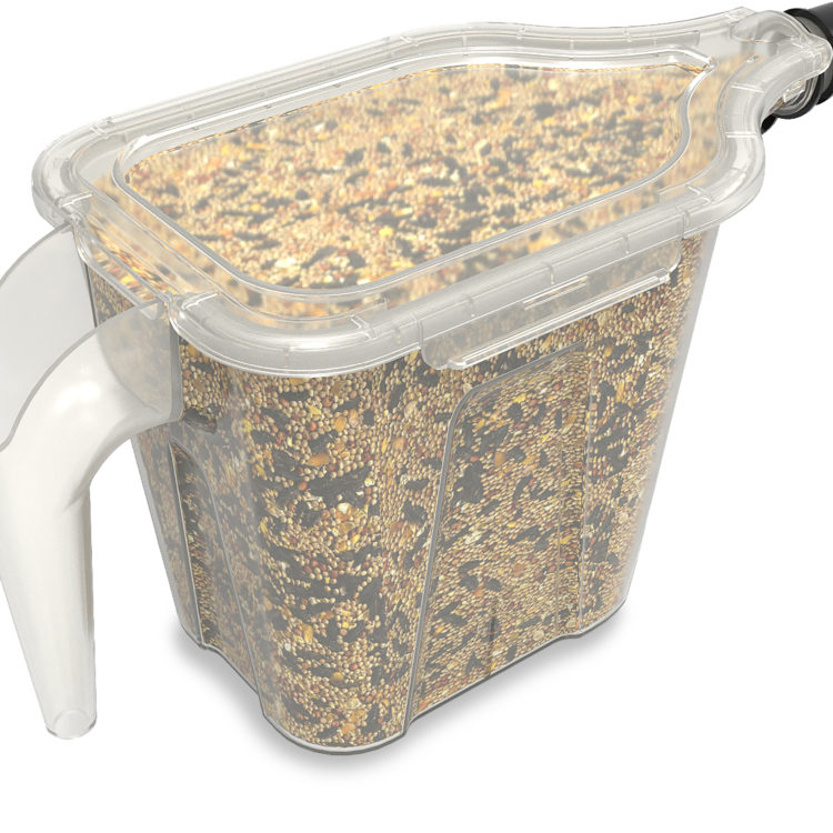 bird seed in Stokes Select 3-in-1 tote