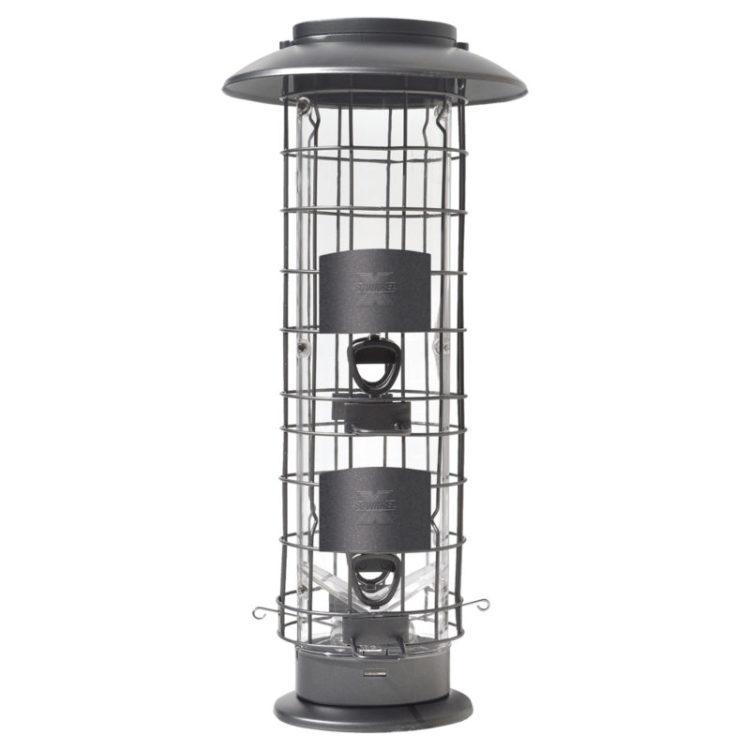 Squirrel-X easy fill squirrel-proof feeder