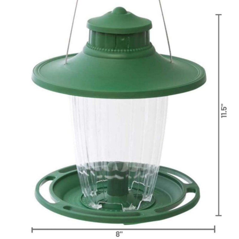 Stokes Select Large Lantern Bird Feeder dimensions