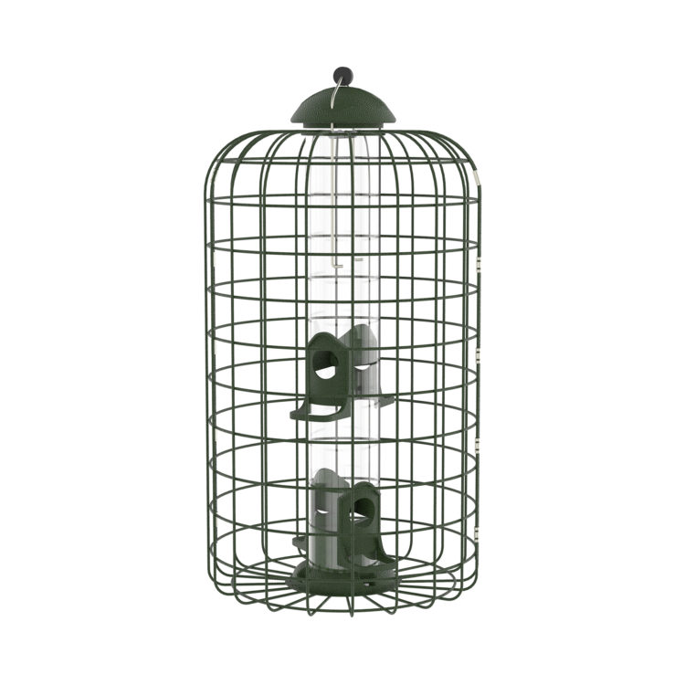 Squirrel-X Squirrel-Resistant Caged Bird Feeder