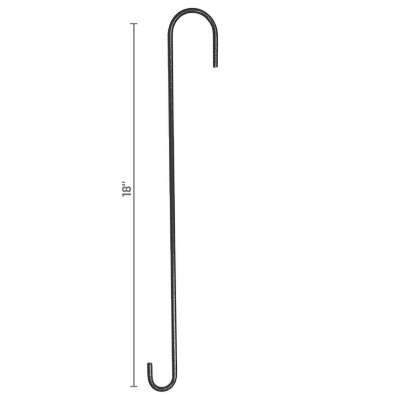 Stokes Select 18 inch Extension Hook dimensions