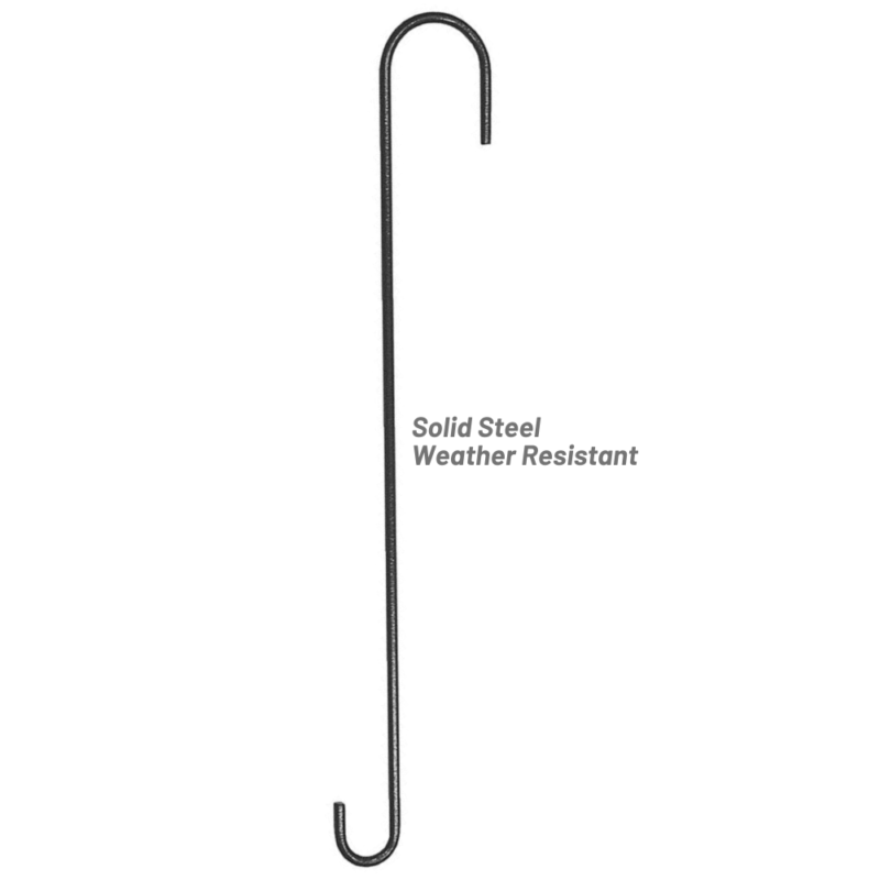 Stokes Select 18 inch Extension Hook solid steel construction is weather-resistant