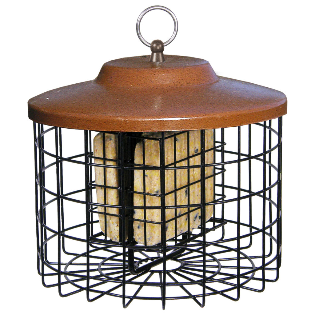 Squirrel-X squirrel-proof suet cage