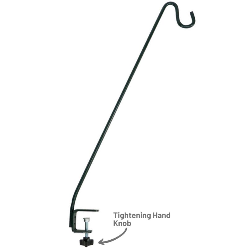 Stokes Select 13 inch Deck Hook tightening hand knob