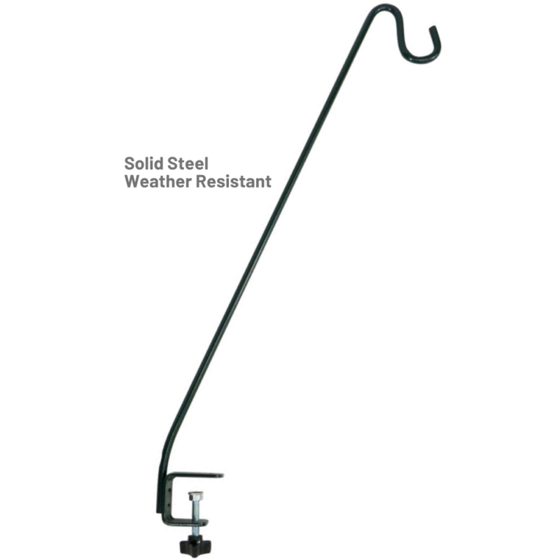 Stokes Select 13 inch Deck Hook solid steel construction is weather-resistant
