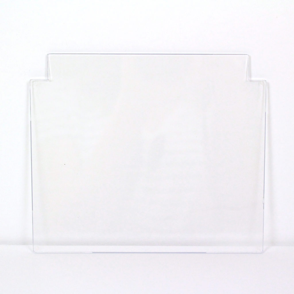 Stokes Select replacement plexi-glass