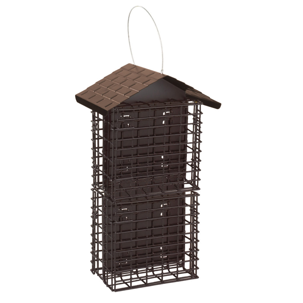 Stokes Select Four Cake Suet Buffet with Weather Guard