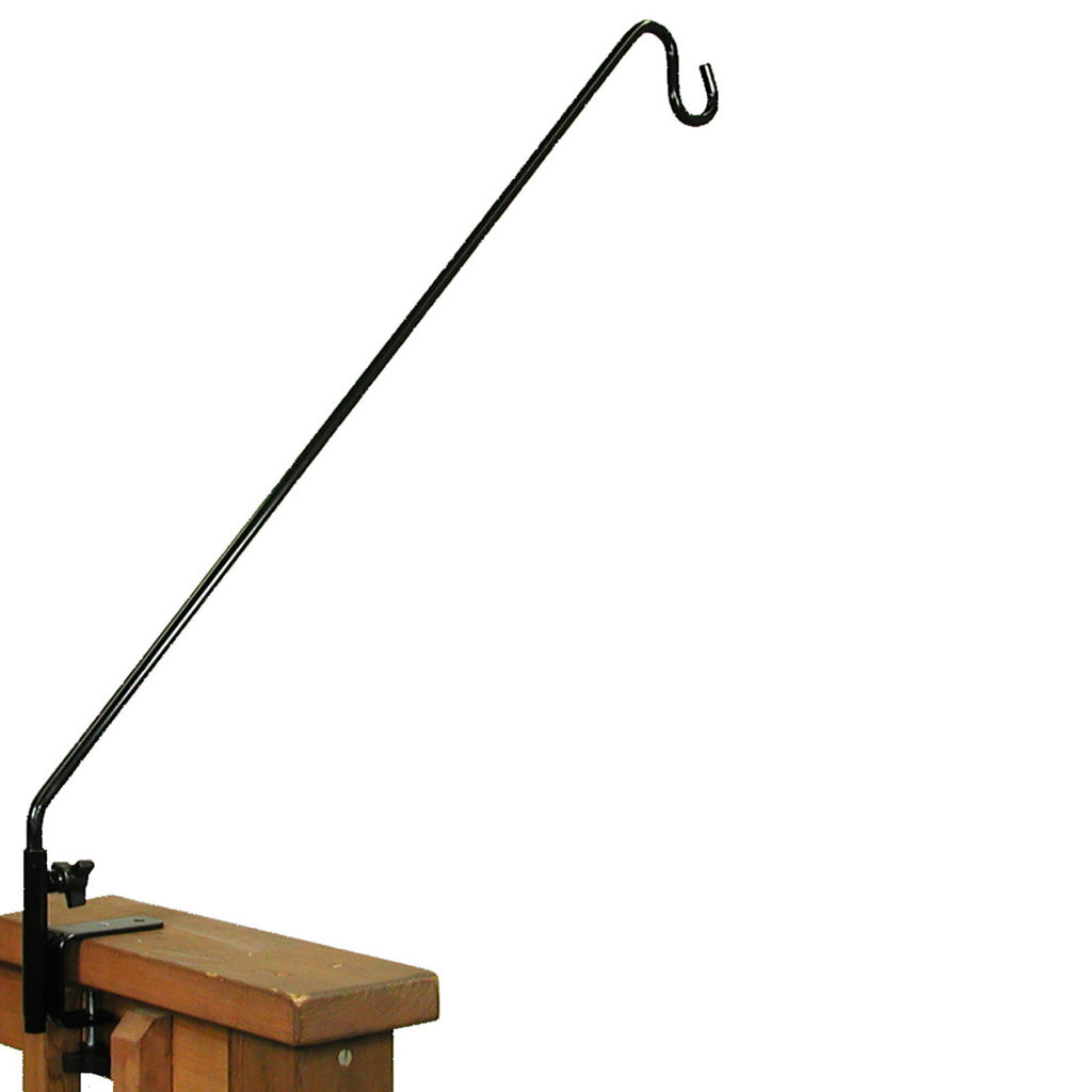 """Stokes Select 27"""" extended reach deck hook"""