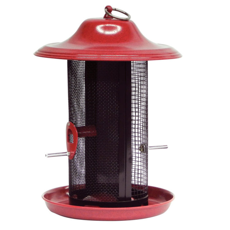 Stokes Select red rock twin feeder