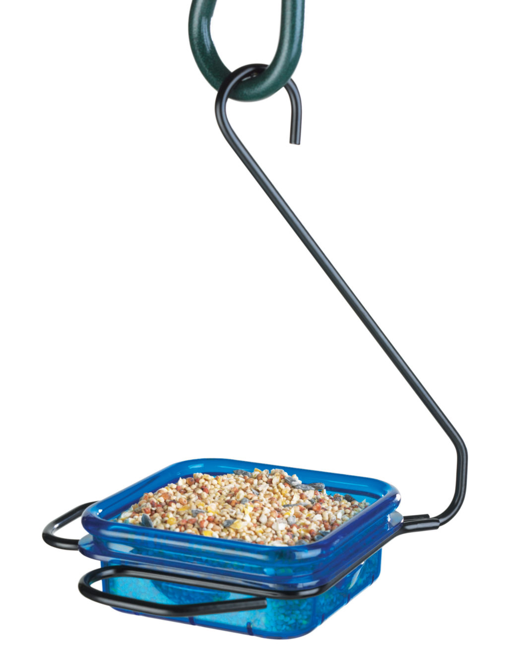Stokes Select snacks 'n' treats - hanging dish feeder filled with bird seed
