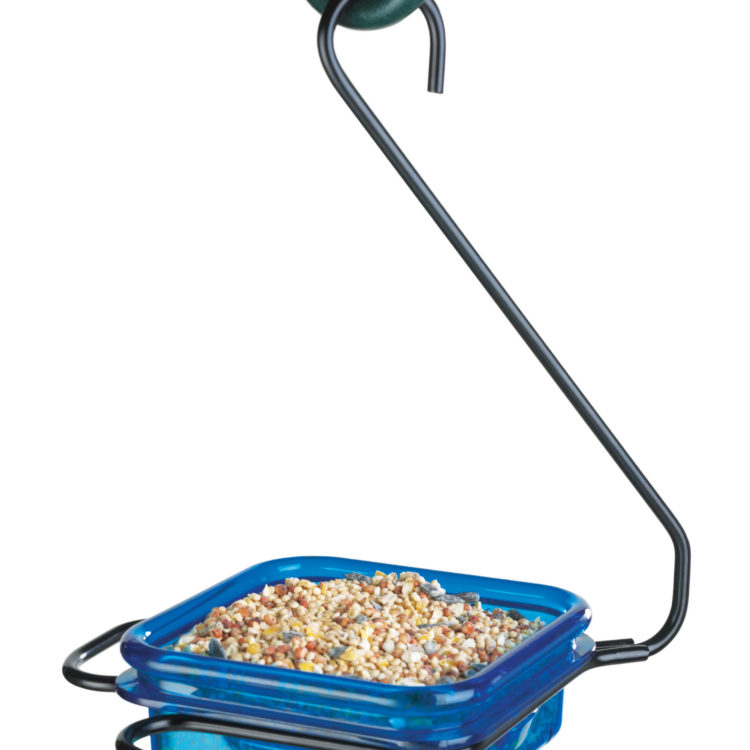 Stokes Select snacks 'n' treats - hanging dish feeder w/ seed