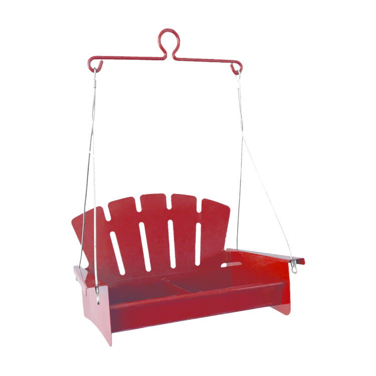Red Snacks 'n' Treats Platform Swing
