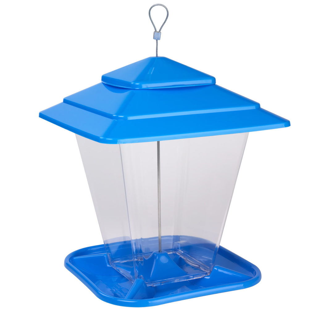 Stokes Select Square Seed Feeder blue