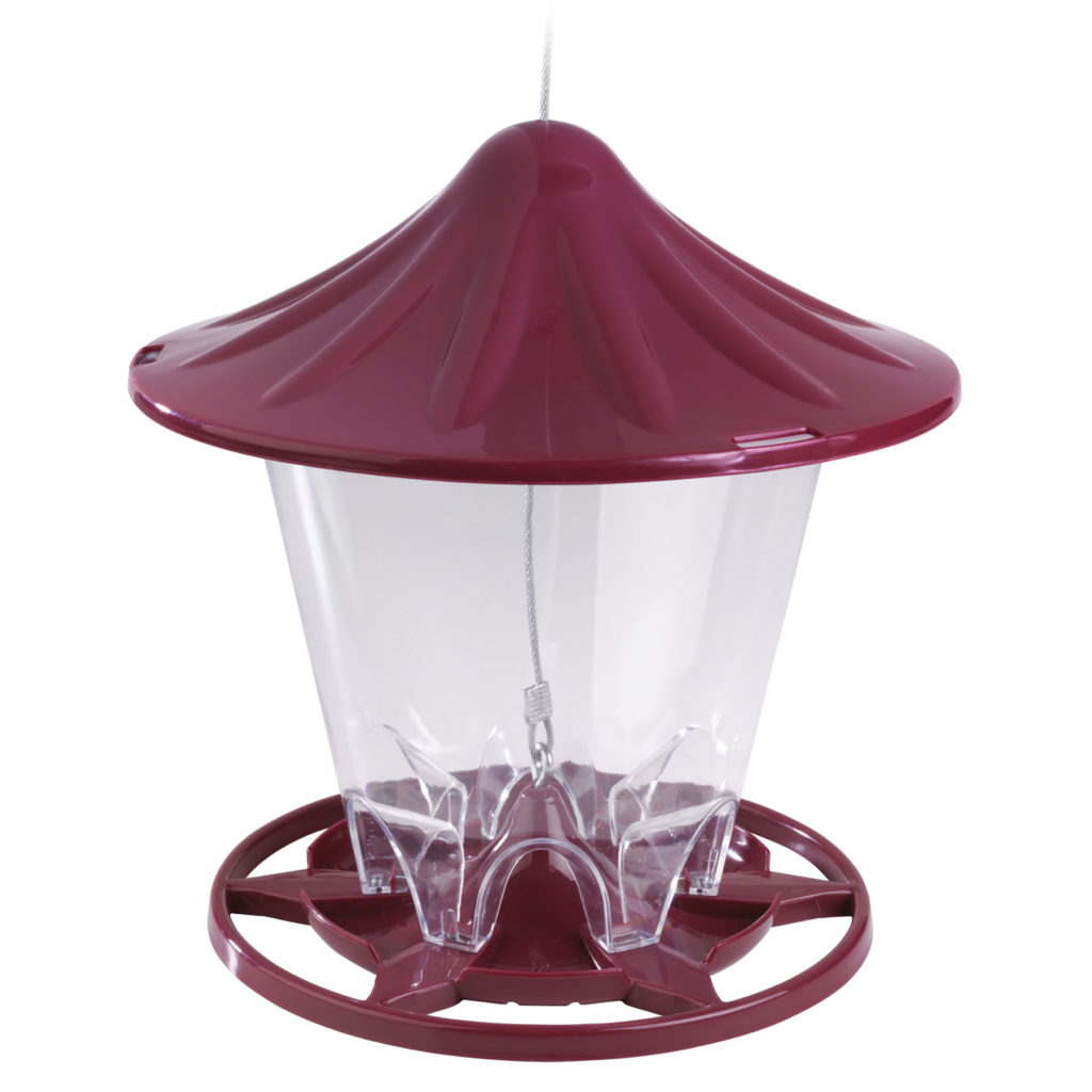 Stokes Select round seed feeder red