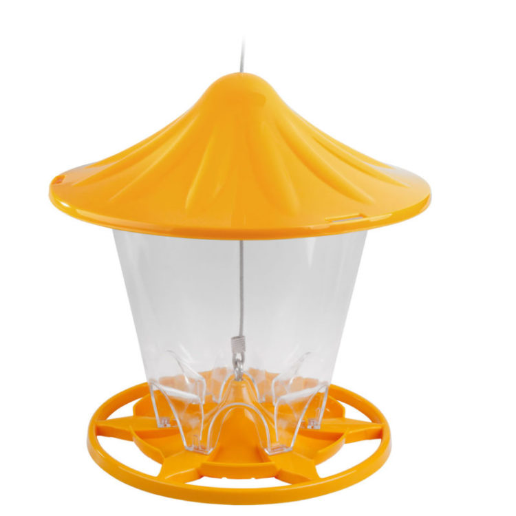 Stokes Select round seed feeder orange