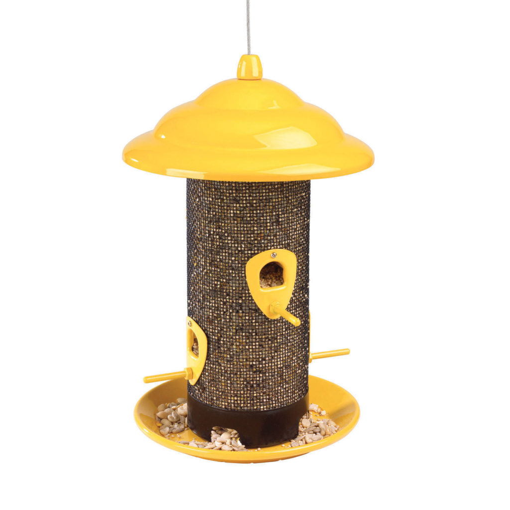 Stokes Select sedona screen feeder w/ seed