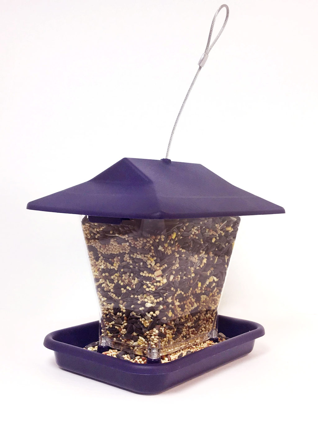 Stokes Select ranch feeder filled with bird seed