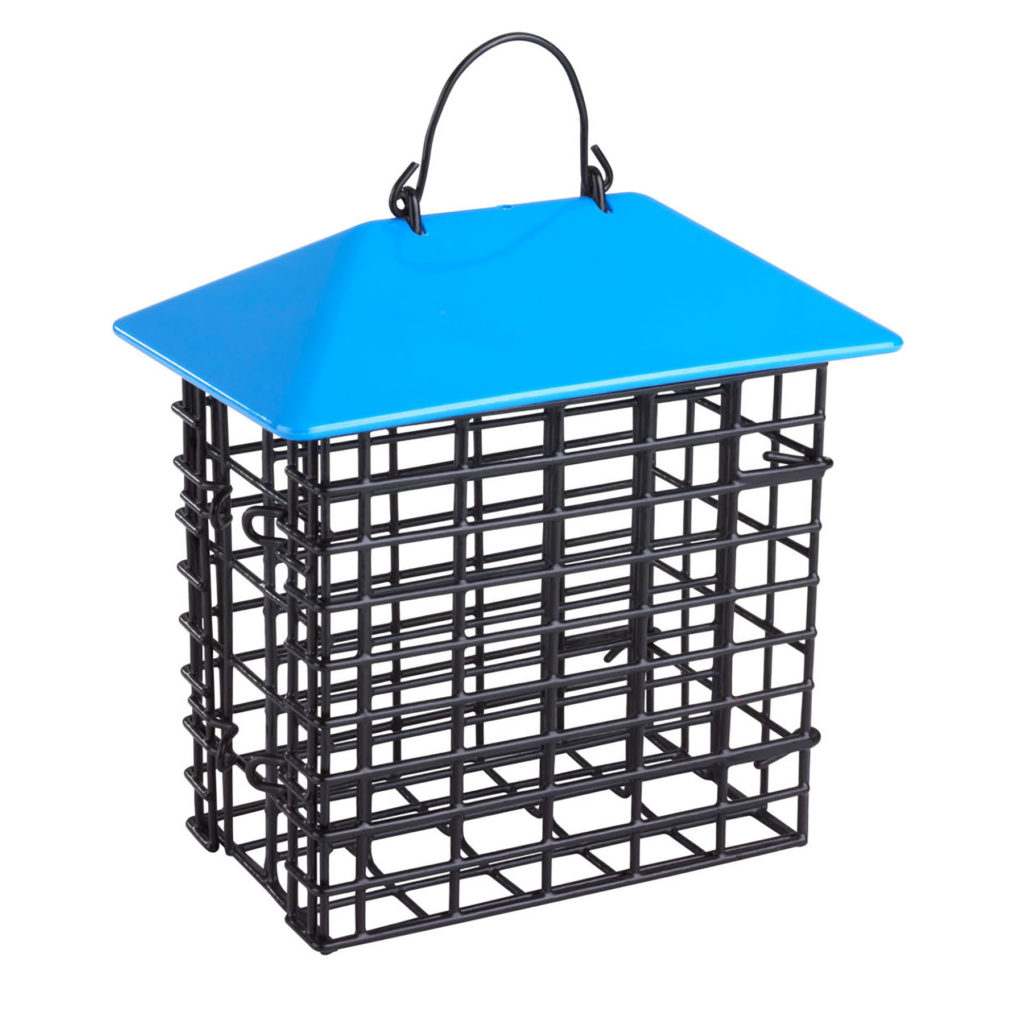 Stokes Select double suet feeder blue