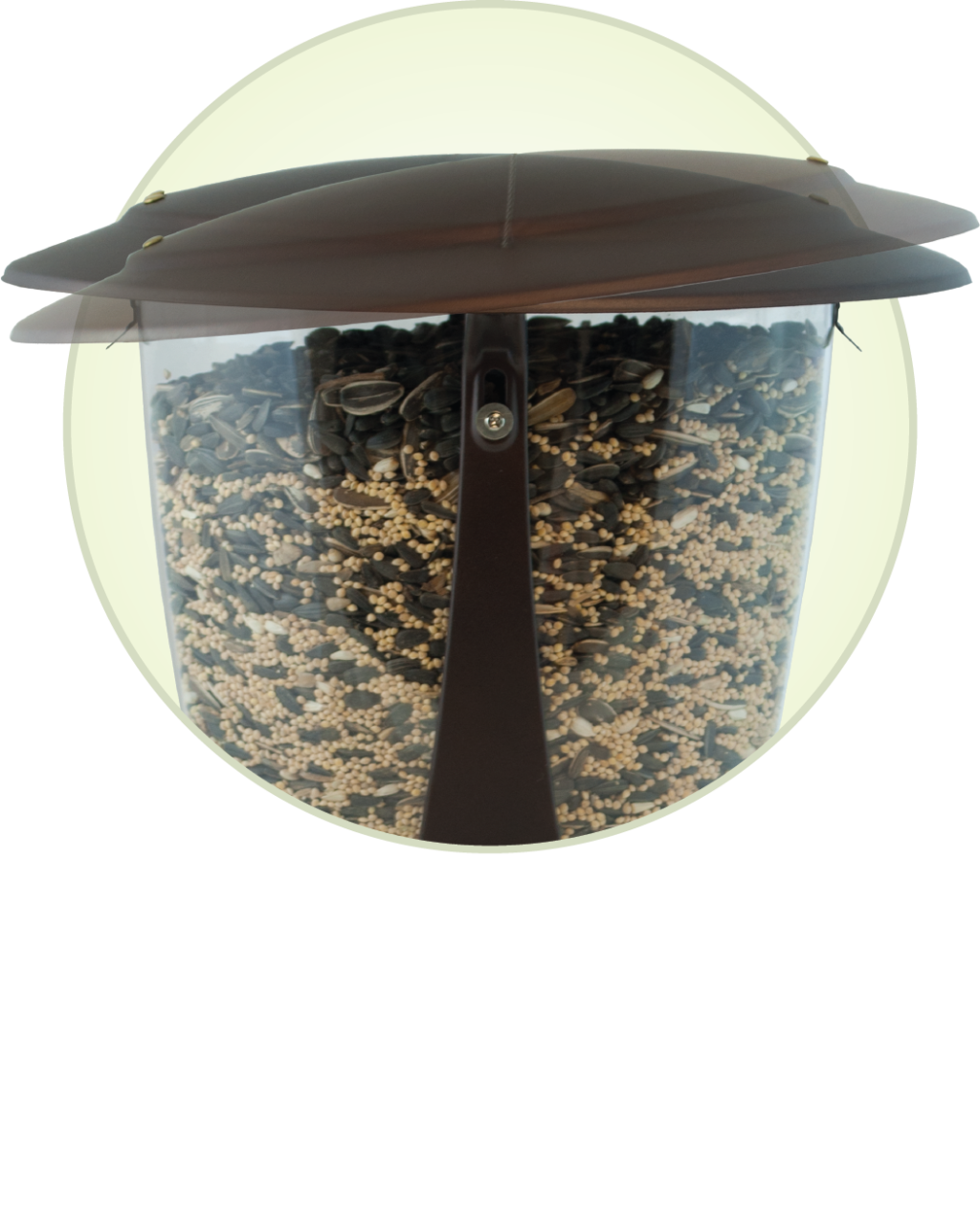 Squirrel-X2 squirrel resistant feeder top
