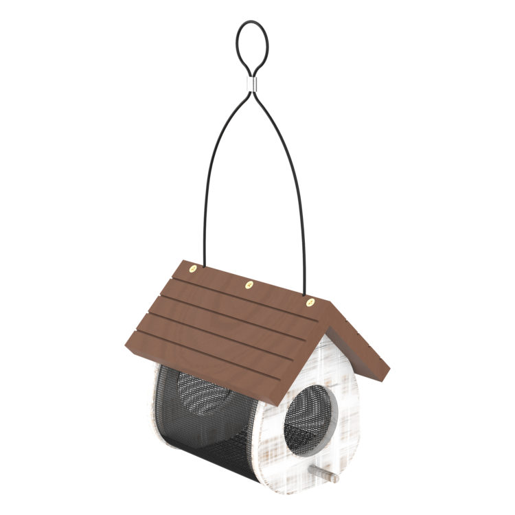 Cute Cling Wood Feeder